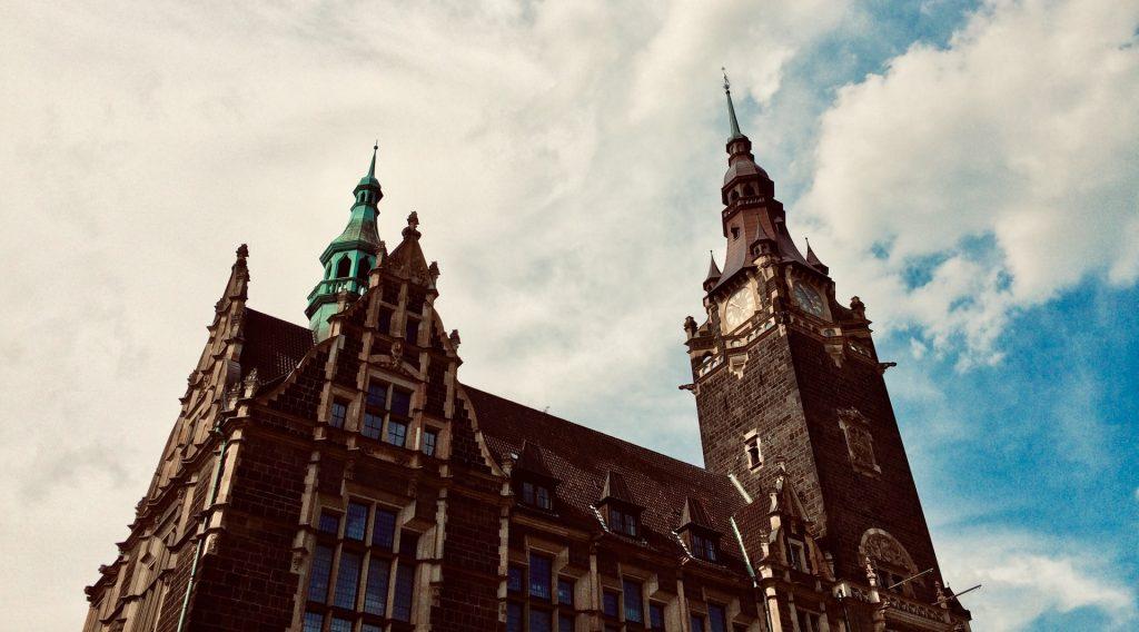 Bild des Rathauses in Wuppertal